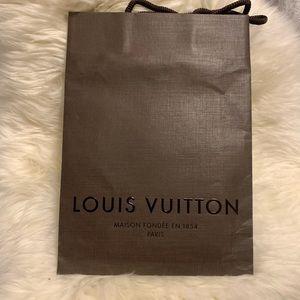 LOUIS VUITTON gift paper bag